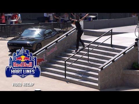 Red Bull Hart Lines Video Recap - TransWorld SKATEboarding