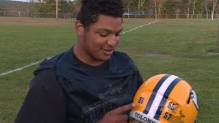 Ledyard's Andrew Harris: multiple positions, multiple jerseys, sometimes in the same game