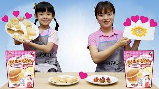 Nhật Ký An An Ở Nhà Tránh Dịch: Thi Trang Trí Bánh Rán Chống Cô Vy Với Chị 💎 AnAn ToysReview TV 💎