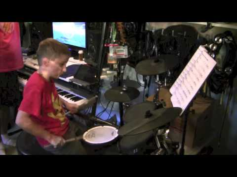 "Ryan 11yrs Old  ""YYZ"" By RUSH From Moving Pictures (cover)"