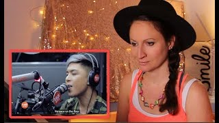 Vocal Coach REACTS to KRIS LAWRENCE-VERSACE ON THE FLOOR- (Bruno Mars) LIVE on Wish 107.5