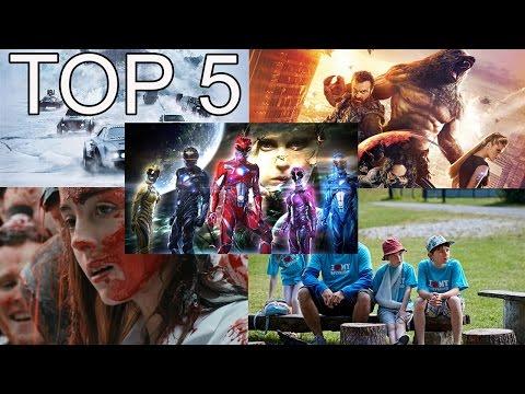 TOP 5 filmových novinek: duben 2017