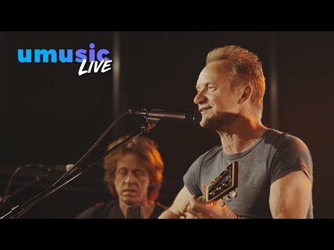Sting - Message in a Bottle | Ziggo Backstage Sessions (2016)