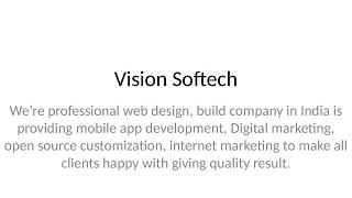 top offshore outsourcing custom software development company, web design india