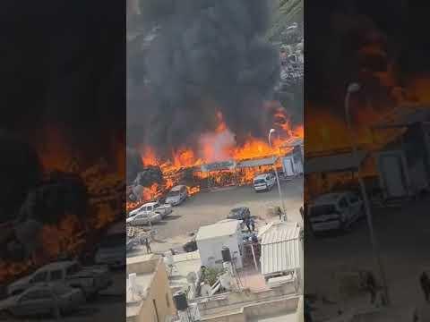 שריפות כבידות ברחבי הארץ
