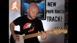 Papa Roach  You're Not The Only One   Guitar Lesson