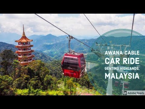 Awana Cable Car Ride - Genting Highlands,Malaysia