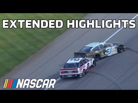NASCAR ファイヤーキーパーズカジノ400(ミシガン・インターナショナル・スピードウェイ)ハイライト動画