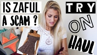 Is Zaful a SCAM? HAUL + TRY-ON