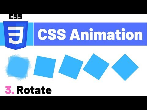 CSS Animation Tutorial - Rotate Property