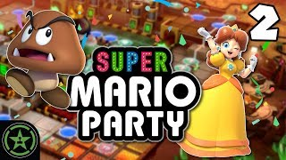 Gold Rush Mine - Super Mario Party (PART 2)   Let's Play