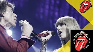The Rolling Stones & Taylor Swift   As Tears Go By   Live In Chicago