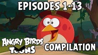 Angry Birds Toons Compilation | Season 2 Mashup | Ep1 13
