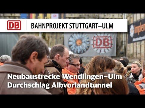 Zweiter Durchschlag Albvorlandtunnel