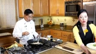 梁廚美食 - 香酥荔茸鳳尾蝦