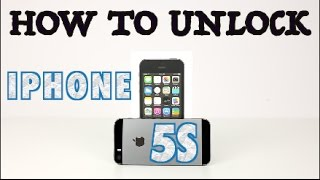 How to Unlock iPhone 5s for EVERY Network (Sprint, AT&T, T-Mobile, Boost Mobile, Verizon, ETC)