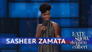 Sasheer Zamata Is A Tough Name For Certain People thumbnail