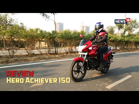 hero achiever achiever 150cc motorcycle bike mileage price