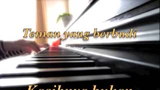 Nur Kasih~~ In Team~~ Piano Cover ~~ With Lyrics