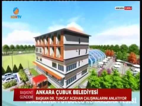 Çubuk Belediye Başkanımız Dr. Tuncay ACEHAN KON TV Canlı Yayın Konuğu Oldu. 1. Bölüm
