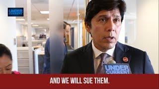 CA Senate President: We Will Sue the Dept. of Justice