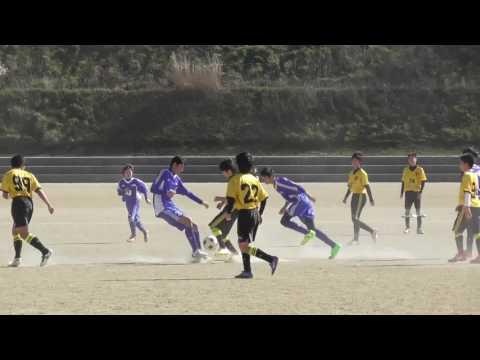 2017.2.19 中学サッカーTRM 宗像セントラルC vs 自由ヶ丘中学校 (30分)