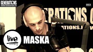 Maska - Espace Temps (Live des Studios de Generations)