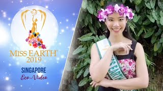 Gerlyn Cheah Miss Earth Singapore 2019 Eco Video