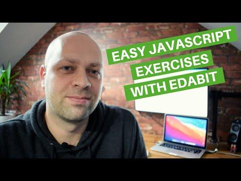 Easy JavaScript Exercises with Edabit