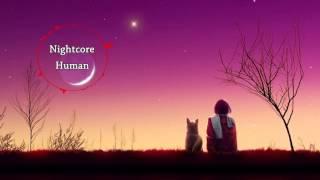 Nightcore - Human