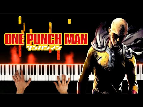 One Punch Man OST - Saitama's Theme (Sad + Epic Piano Cover)