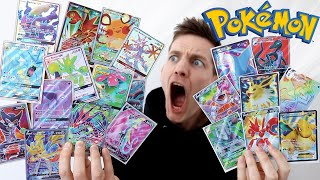 I PULLED *37 FULL ART CARDS* IN 1 VIDEO!!!! by Unlisted Leaf