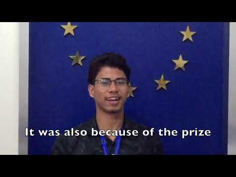 3rd Place Winner of EUforia Competition: Sandy Apriliansyah