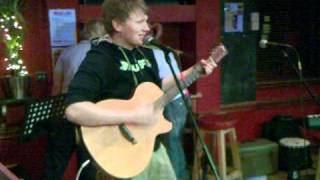 Bar XLR Open Mic - Michael Charman - Stephen Lynch cover 'Down To The Old Pub Instead'