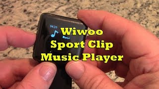 Product Demo - Wiwoo Sport Clip Music Player
