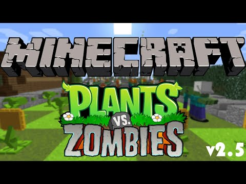 Plants vs Zombies Minecraft Project