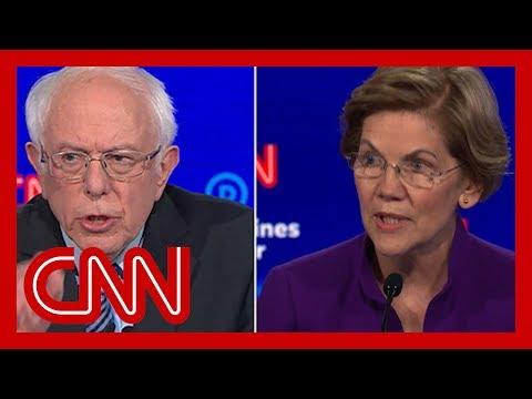Elizabeth Warren fires back at Bernie Sanders' denial about women candidates