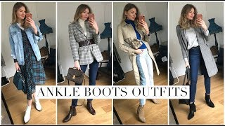 How To Wear Ankle Boots | Styling Moments