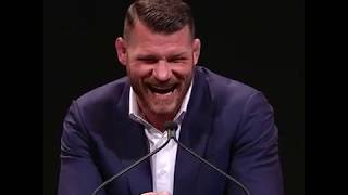 Michael Bisping - Hall of Fame - Full Speech