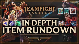 IN DEPTH ITEM GUIDE FOR EVERY CHAMPION IN TFT | Teamfight Tactics