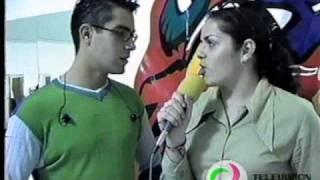 preview picture of video 'TEHUACÁN ENTREVISTA AL ACTOR Y CANTANTE  ERNESTO D´ALESSIO'