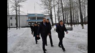 Рабочая поездка губернатора Сергея Фургала в Охотский р...