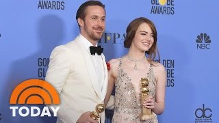 'La La Land' Has A Landslide Of Wins With 7 Awards At Golden Globes  TODAY