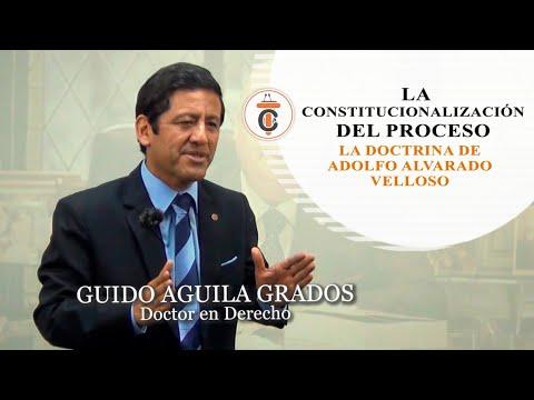 LA CONSTITUCIONALIZACIÓN DEL PROCESO: La doctrina de Adolfo Alvarado Velloso - Tribuna 100