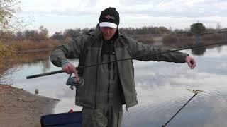 Ловля леща в октябре на озере