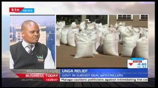 Technical Expert-Antony Kaunga, Farm Concern International talking on the maize flour crisis
