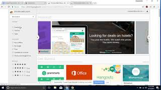 View Multiple Google Tabs on the Same Screen