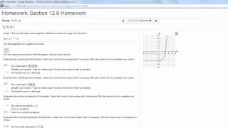Graphing Exponential Functions HW In MyMathLab