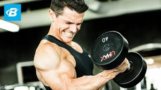 Blow Your Arms Up Workout | Jason Wittrock by Bodybuilding.com