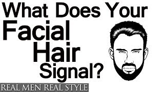 Science Of Facial Hair | What Do Beards And Stubble Signal? Psychology Of Stubble Beards